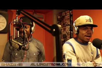 "Chance The Rapper Feat. Talib Kweli & Cory Mo ""Showoff Radio Freestyle"" Video"