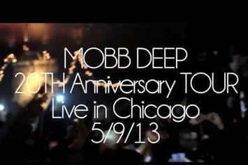 """Mobb Deep """"Perform In Chicago"""" Video"""
