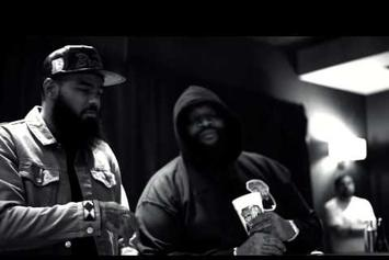 """Stalley Feat. Scarface """"In Studio Creating """"Swangin"""""""" Video"""