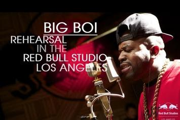"Big Boi """"Apple Of My Eye"" (Rehearsal At Redbull Studio)"" Video"