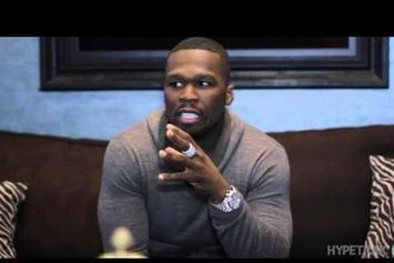 "50 Cent ""Discusses What Motivates Him, New Hipster Rappers"" Video"
