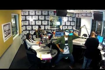 """French Montana """"Does Harlem Shake With Power 106"""" Video"""