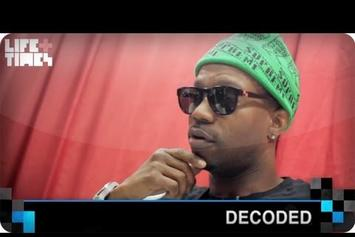 "Juicy J ""Decoded: ""Bandz A Make Her Dance"""" Video"