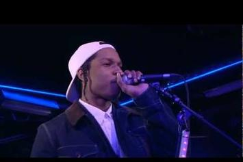 """ASAP Rocky """"Freestyle With DJ Semtex"""" Video"""