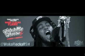 "Waka Flocka """"Salute Me Or Shoot Me 4"" Trailer"" Video"