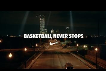 "J. Cole ""Nike ""Basketball Never Stops"""" Video"