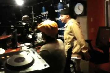 "R-Mean ""Spits a CRAZY FREESTYLE LIVE on Shade 45's Sway in the Morning"" Video"