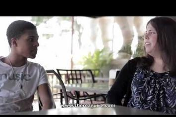 "Diggy Simmons ""Interview with Jessie Maguire"" Video"