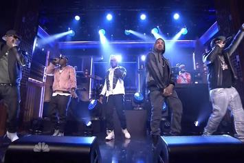 "G-Unit Perform ""I'm Grown"" On Jimmy Fallon"