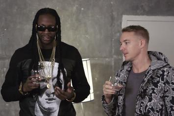 "2 Chainz & Diplo Drink $100K Water For ""Most Expensivest Shit"""