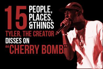 "15 People, Places & Things Tyler, The Creator Disses On ""Cherry Bomb"""