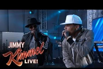 "Jamie Foxx & Kid Ink Perform ""Baby's In Love"" On Kimmel"