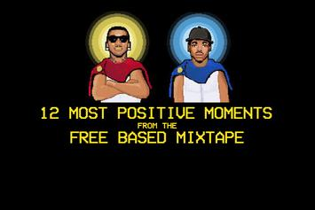 """12 Most Positive Moments From Chance The Rapper & Lil B's """"Free Based"""" Mixtape"""