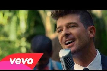 "Robin Thicke Feat. Nicki Minaj ""Back Together"" Video"