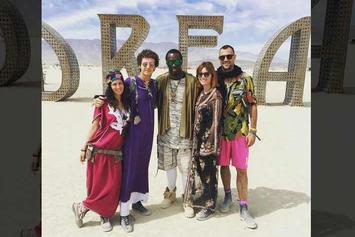 Diddy Dances At Burning Man