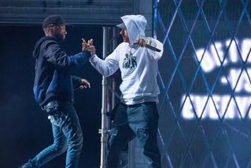 """Big Sean Brings Out Eminem To Perform """"Detroit Vs. Everybody"""" At Homecoming Concert In Detroit"""