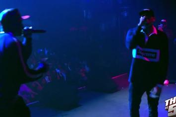 """50 Cent & Chris Brown Perform """"Im The Man"""" Live In Oakland"""