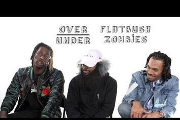 "Flatbush Zombies Talk Medieval Times & OJ Simpson On ""Over/Under"""