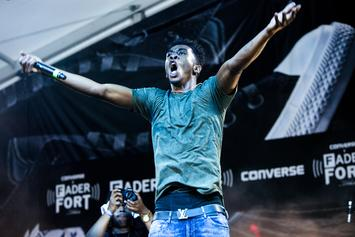 "Desiigner's ""Panda"" Rises To Number 2 On The Billboard Hot 100"