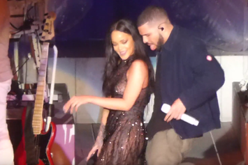 """Rihanna Brings Out Drake In L.A. To Perform """"Work"""""""
