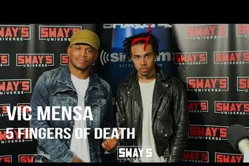 "Vic Mensa's ""5 Fingers Of Death"" Freestyle On Sway In The Morning"