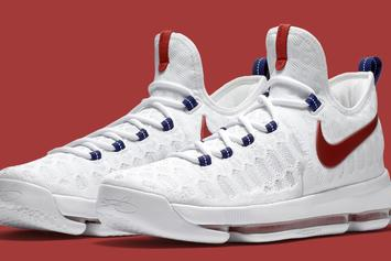 """Kevin Durant's Olympic Sneakers, The """"Premiere"""" Nike KD9 Will Release Tomorrow"""