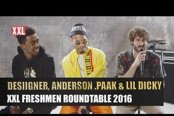 Desiigner, Lil Dicky & Anderson .Paak's XXL Freshmen Roundtable Interview