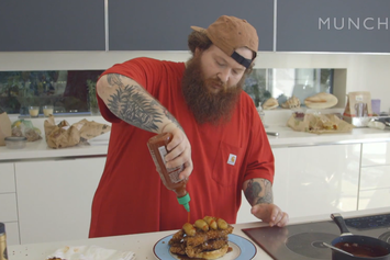 Random Moments In Food Presented By Action Bronson