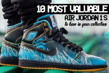 The 10 Most Valuable Air Jordan 1s To Have In Your Collection