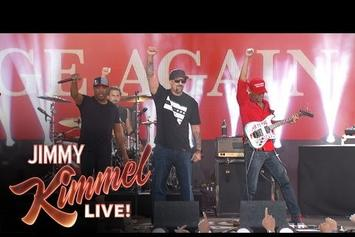 Prophets of Rage Make Television Debut Performance On Jimmy Kimmel