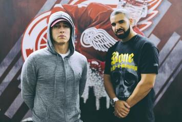 "Drake Brings Out Eminem For Detroit's ""Summer Sixteen"" Stop"