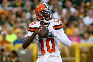 Robert Griffin III Already Got His New Girl's Name Tattooed On His Arm