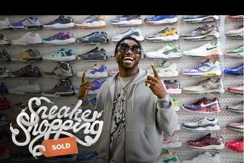 Watch Gucci Mane Spend $2,000 While Sneaker Shopping