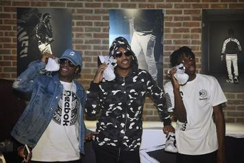 Future Makes An Appearance At The Reebok Fury Pop Up Shop In NYC