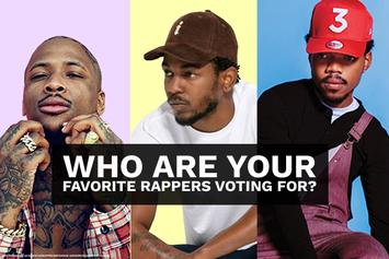 Who Are Your Favorite Rappers Voting For?