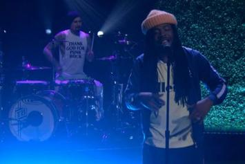 "D.R.A.M. & Travis Barker Perform ""Broccoli"" On Conan"