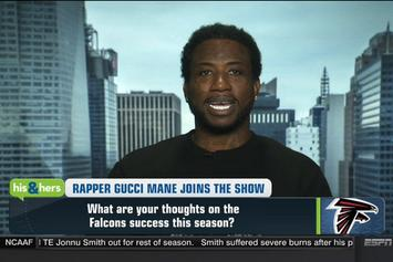 "Gucci Mane On ESPN's ""His & Hers"""