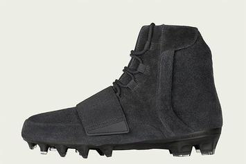 """Adidas Unveils """"Triple Black"""" Yeezy Boost 750 Cleats"""