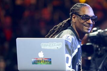 "Snoop Dogg Played ""The Next Episode"" On TV Uncensored At NHL All-Star Event"