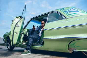 Curren$y Debuts New Weed-Inspired Reebok Collab At NBA All Star Weekend
