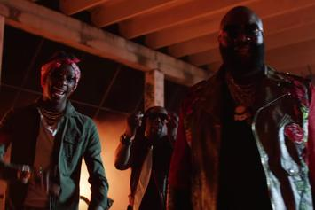"Rick Ross Feat. Young Thug, Wale ""Trap Trap Trap"" Video"