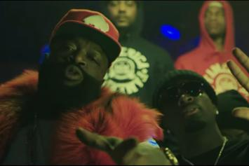 """Rick Ross Feat. Gucci Mane """"She On My Dick"""" Video"""