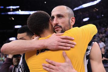 Manu Ginobili Receives Standing Ovation In What Could Be His Last Game