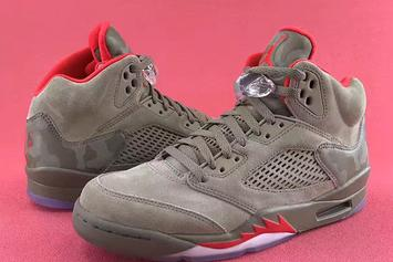 """""""Reflective Camo"""" Air Jordan 5s To Release This Year"""