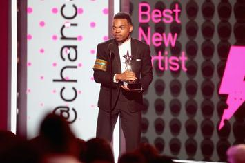 "Chance The Rapper Receives ""Humanitarian Award"" at 2017 BET Awards"