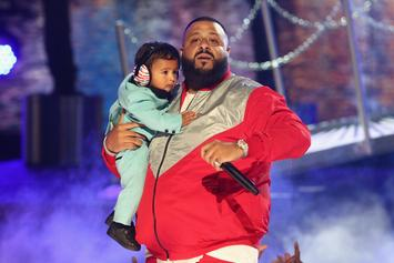 """DJ Khaled Brings Out  Chance The Rapper, Lil Wayne, Quavo, and Asahd for """"I'm The One"""" at BET Awards"""