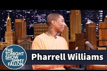 Pharrell Explains What's It Like Raising Triplets