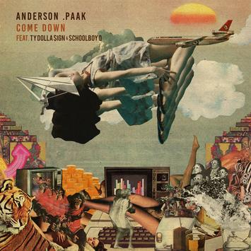 Cover  Listen to Anderson .Paak's New 'Come Down' (Remix) Feat. ScHoolboy Q & Ty Dolla $ign 1493168498 4bfe59fb574b3df3cf0714b41c0cc7dc