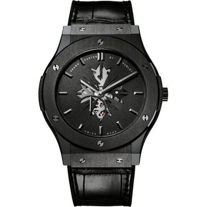 Shawn Carter By Hublot Black Ceramic 45mm Classic Fusion Watch- $17,900