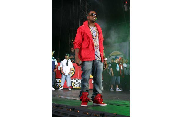 Hot 97 Summer Jam 2007. Kanye introduces us to Ato Matsumoto sneakers